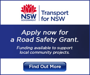 Transport for NSW. Apply now for a Road Safety Grant. Funding available to support local community projects. Find out more.