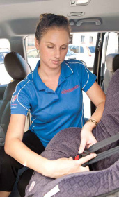 Child restraints should be correctly installed and faitted.