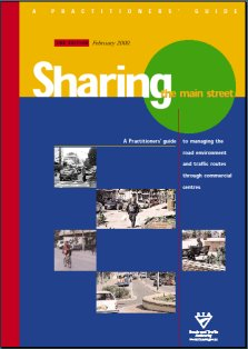 Cover of Sharing the Main Street Practitioners Guide booklet