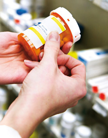 Prescription drugs can affect your ability to drive.